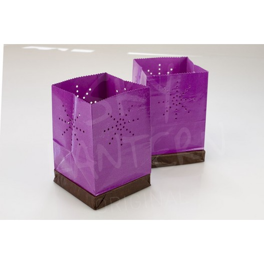 Lilac Floating Tulum Candle Bag
