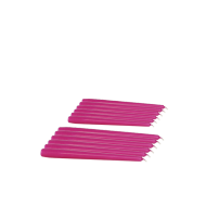 Pack de 12 Chandelles Rose Fuchsia 25cm