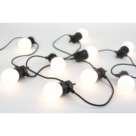 Additional White Festoon Lights 3M Without Plug