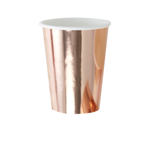 Gobelet Rose Gold x8