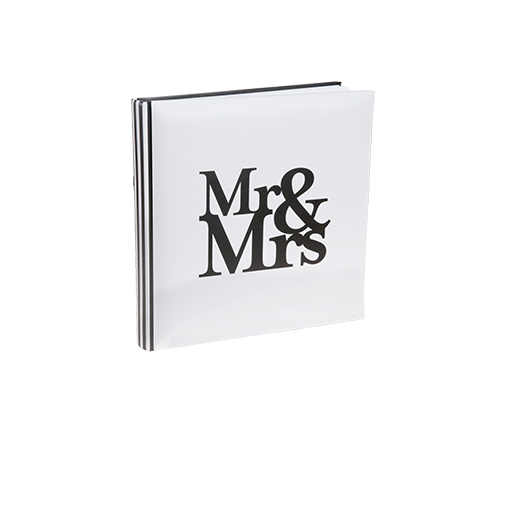 Livre D'Or Mr & Mrs Blanc 24 cm