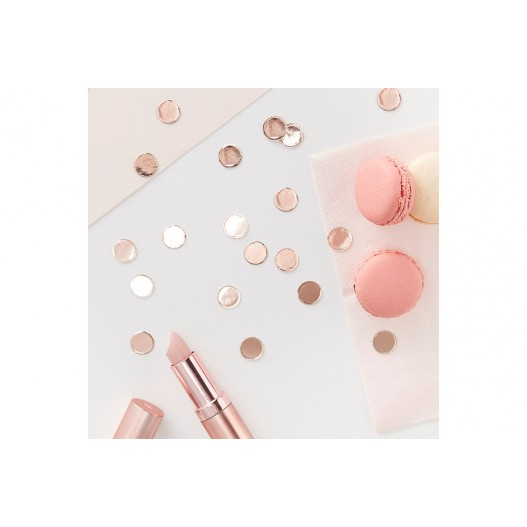 Confettis rond Rose Gold 14 g
