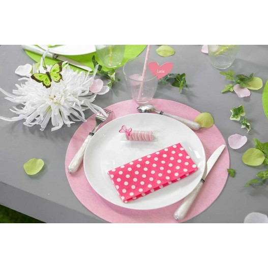 Set de Table Vert Anis 34 cm x50
