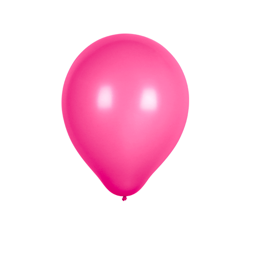 Ballon Latex Biodégradable Fuchsia 28 cm