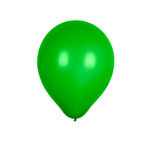 Ballon Latex Biodégradable Vert 28 cm