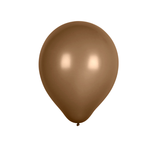 Ballon Latex Biodégradable Chocolat 28 cm
