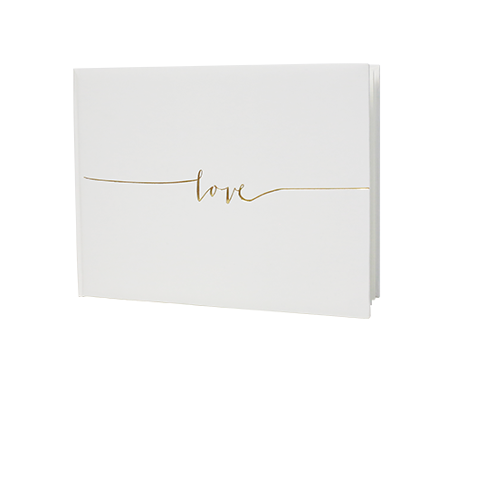 Livre d'or Love Blanc