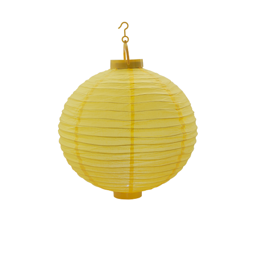 Lampion Led Jaune 30 cm