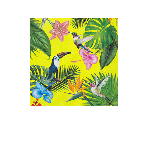 Serviette papier Toucan Tropical x12