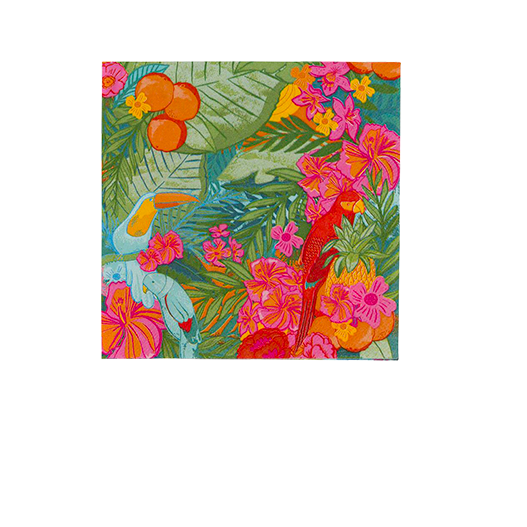 Serviette Papier Tropical Fiesta x12